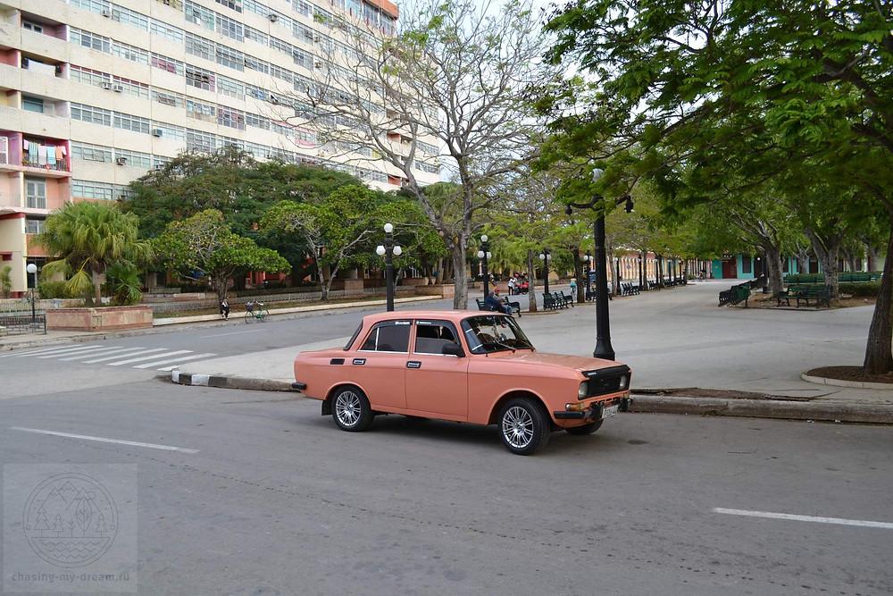 парк Хосе Марти в городе Сьего де Авила на Кубе