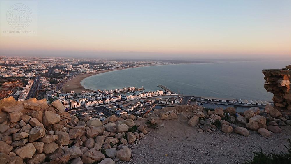 крепость Агадир Офела  - самобытно по миру