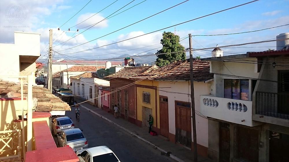 улочки города Тринидад - самобытно по миру на Кубе