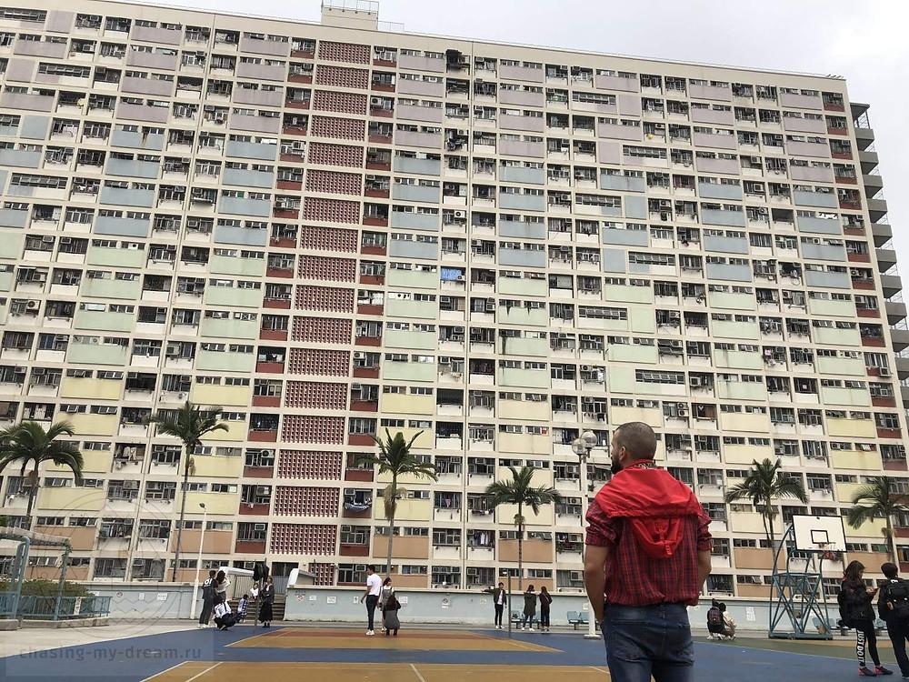 известное инстаграмное место Гонконга - Choi Hung estate