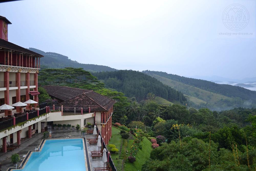 отель в облаках Amaya hills Kandy на Цейлоне