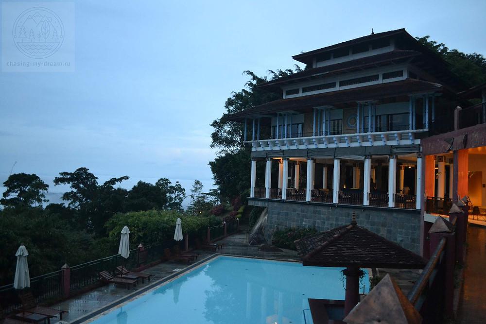 отель в облаках Amaya hills Kandy, самобытно по миру на Цейлоне