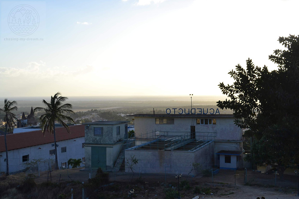 по дороге на Cerro de la Vigía, Куба