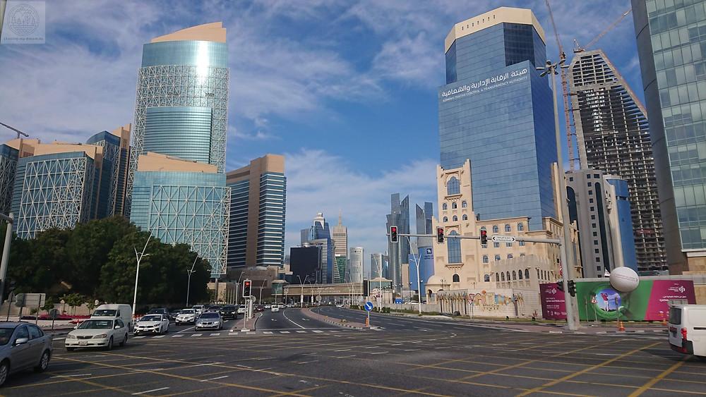 район Дохи West bay - самобытно по миру