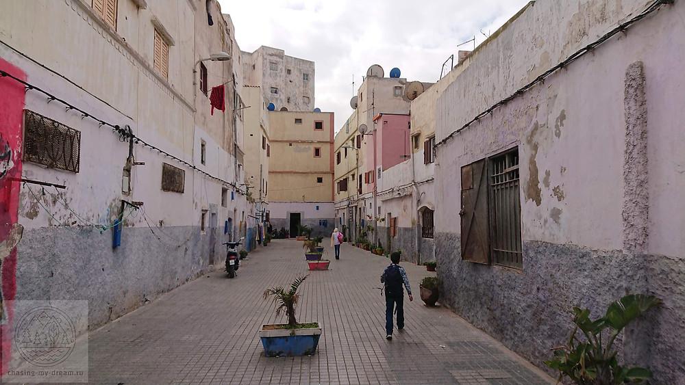 медина Касабланки, старый город