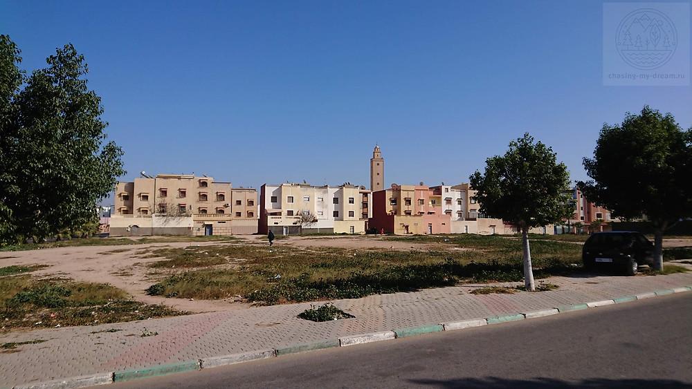 пригород Агадира - город Дшера - самобытно по миру