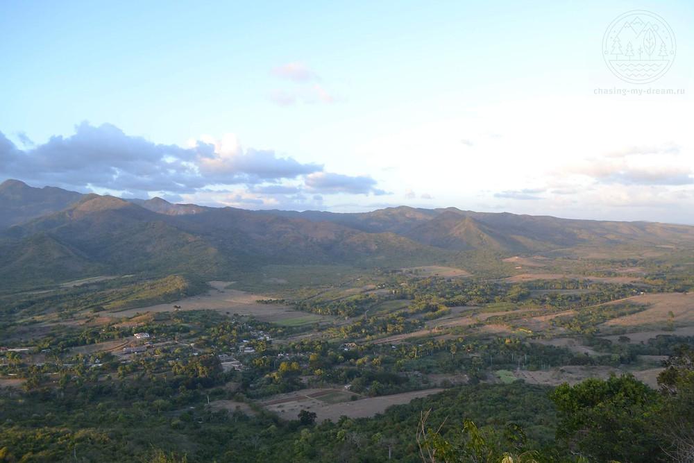 на вершине  Cerro de la Vigía, Куба