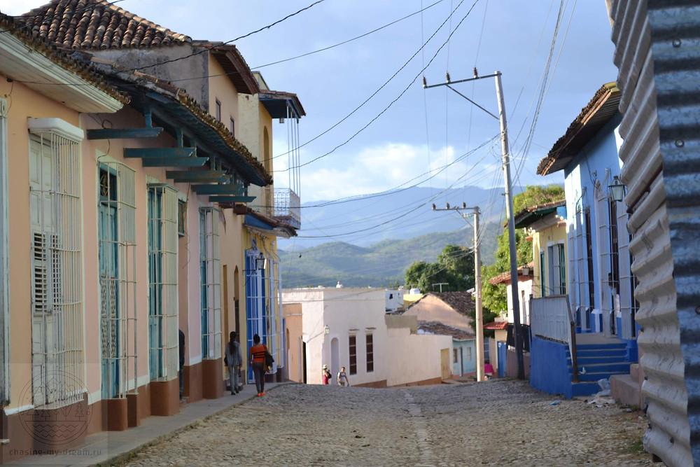 улочки Тринидада, Куба