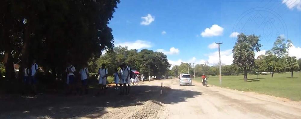 дорога из города Анурадхапура, Цейлон