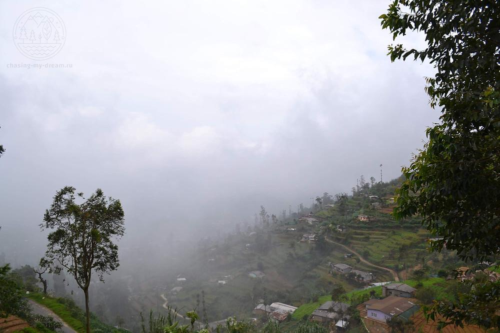 природные красоты Haputale, самобытное путешествие по Цейлону