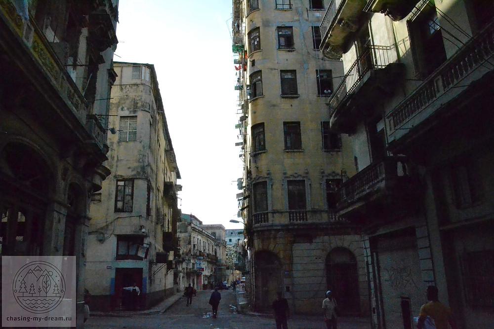 колоритный район Barrio Chino в Гаване - самобытно по миру на Кубе