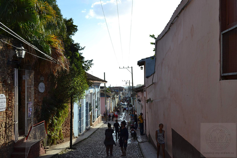 мощеные улочки Тринидада, Куба