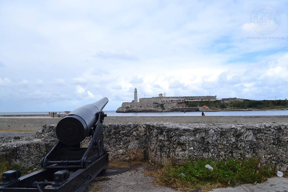 старый форт в Гаване, возле Малекона