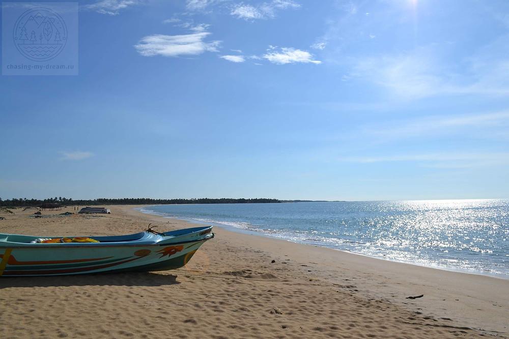 Kudawa beach, самобытно по миру на Цейлоне