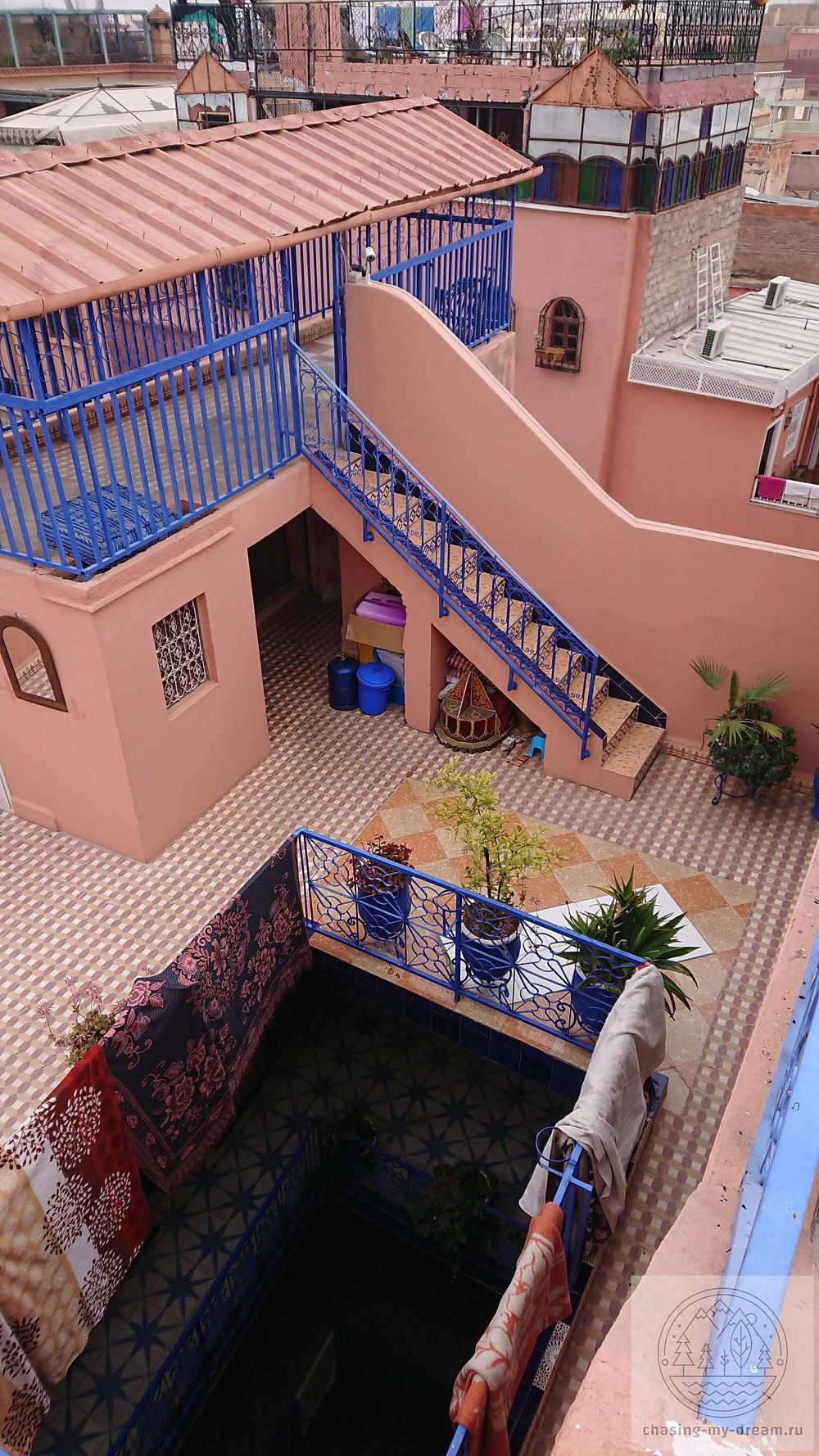 мой отель в Марракеш - самобытно по миру