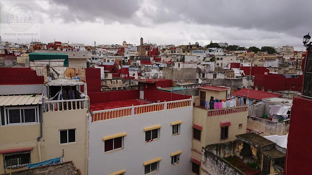 вид на старый город Танжер - самобытно по миру