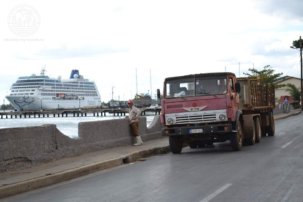 круизный лайнер и КАМАЗ - самобытное путешествие по Кубе