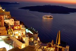 """Santorini Sunset"" © DJM Media"