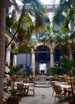 """Cuban Courtyard"" © DJM Media"