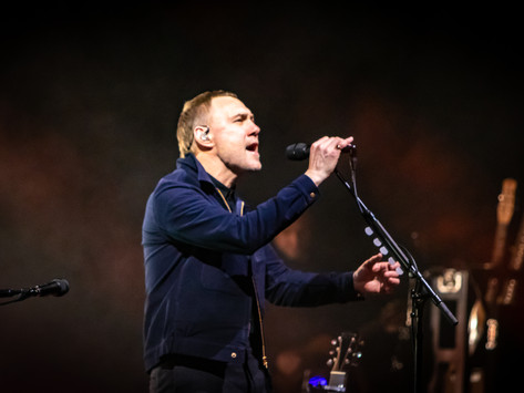David Gray performing his Gold In A Brass Age Tour at The Royal Concert Hall Nottingham