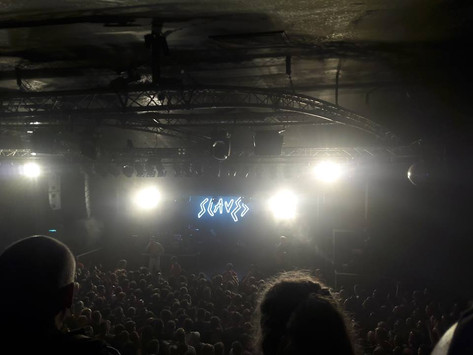 Punk Duo Slaves Stop Off in Nottingham to Play an Infectious Set at a Sold-out Rock City.