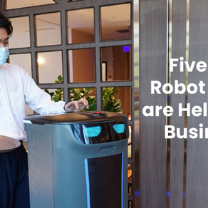 Five Ways Robot Waiters Are Helping F&B Businesses