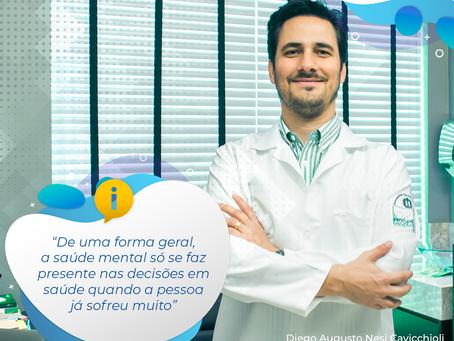 Geralmente, a saúde mental só se faz presente nas decisões em saúde quando a pessoa já sofreu muito