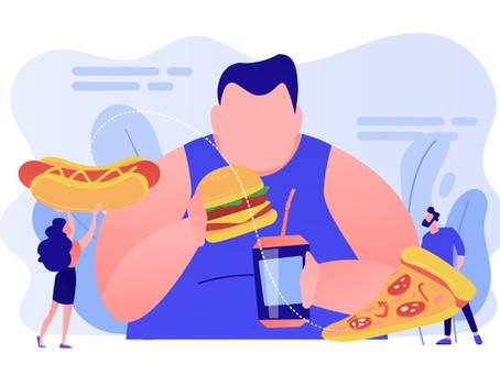 Diabetes e aumento de peso = hábitos não saudáveis