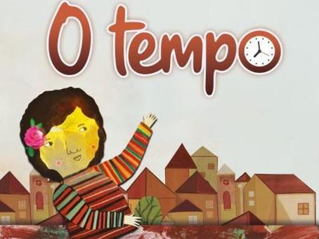 Obra infantojuvenil traz reflexões sobre a influência do tempo na vida cotidiana.