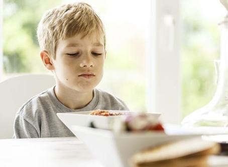 Alguns transtornos alimentares ocorrem precocemente na infância