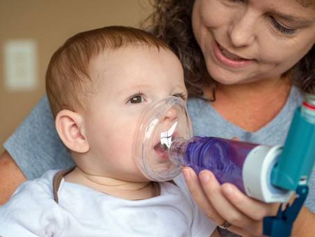 Dicas para começar o ano com a saúde respiratória das crianças em dia