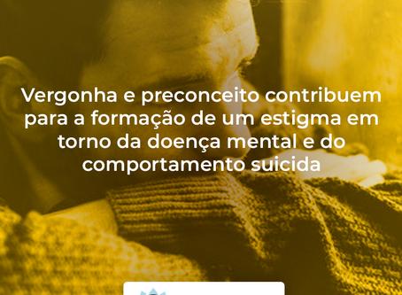 Vergonha e preconceito contribuem para a formação de um estigma em torno da doença mental