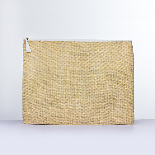 Solid Jute Carry-All (Natural)