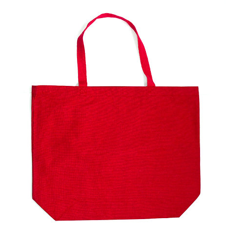 Market Tote (Red)