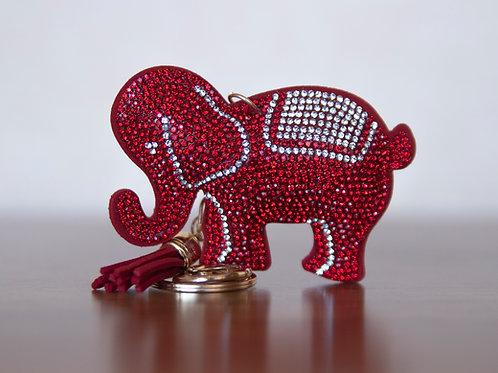 Elephant purse charm/key chain