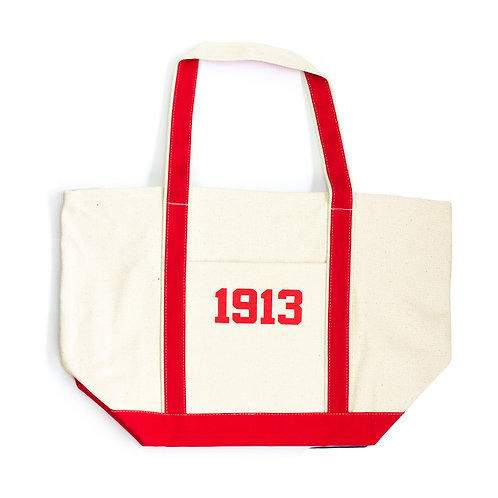 Boat Tote (Red)