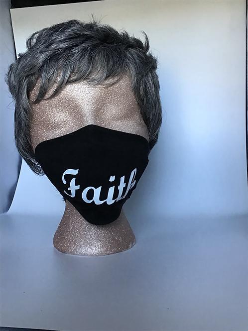Face covering (Faith) white