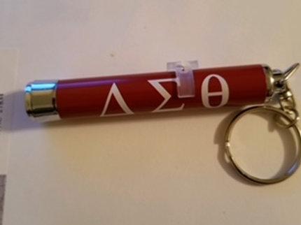 DST flashlight keychain