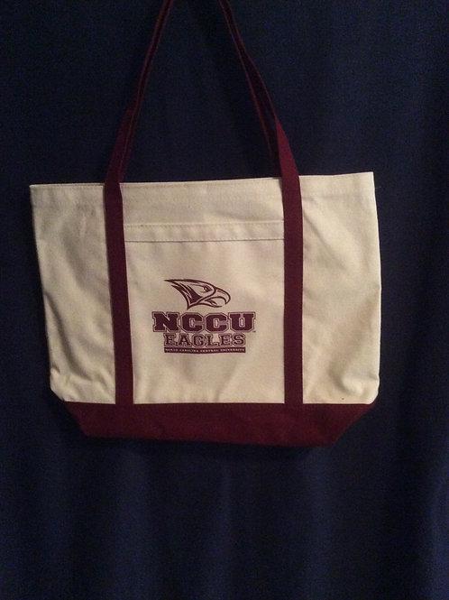 NCCU Canvas Tote bag