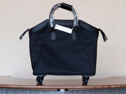 Rolling Tote Bag Black