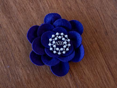 African Violet Corsage