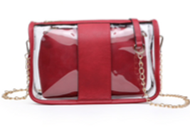 Game Day Clear 2 in 1 Purse