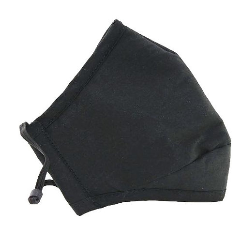 Face Covering with 2 filters (Black)