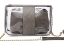 Game Day Clear 2 in 1 Purse BLD1839