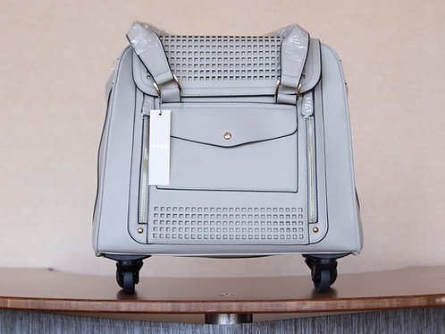 Rolling Tote Grey