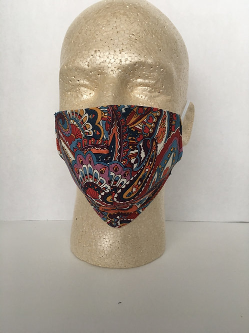 Paisley face coverings