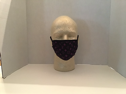 Face Covering (Purple LV)