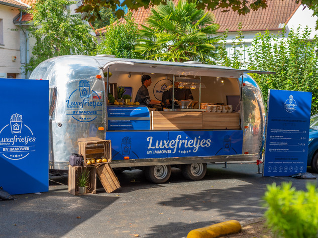 Luxefrietjes Foodtruck Tour