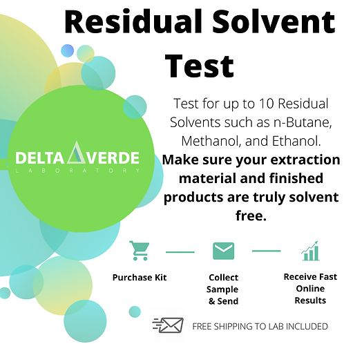 Residual Solvent Test