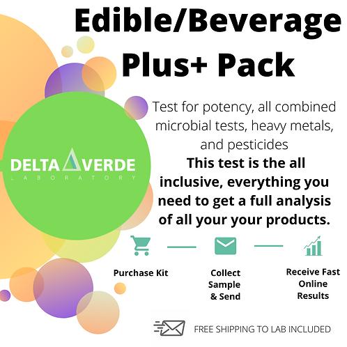 Edible- Beverage PLUS+ Package
